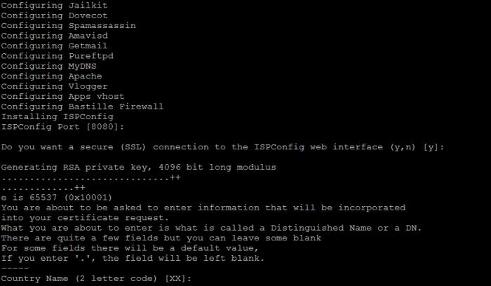 ispconfig ssl setup