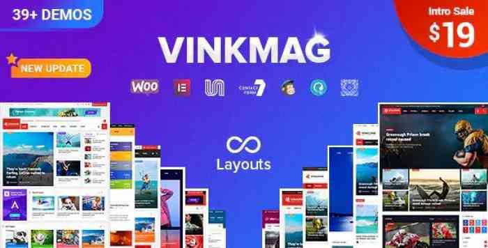 VINKMAG V1.3 – MULTI-CONCEPT CREATIVE NEWSPAPER