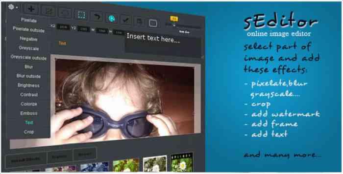 sEditor - online image editor