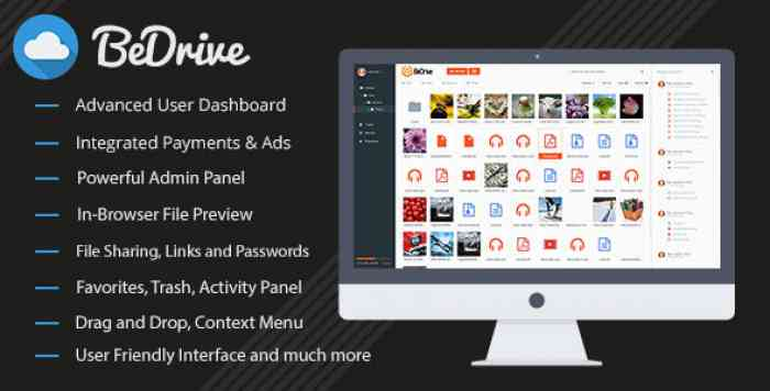 BeDrive v2.0.1 - File Sharing and Cloud Storage