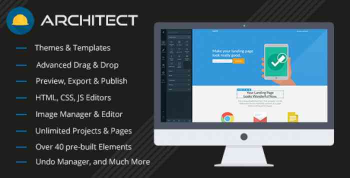 Architect - HTML and Site Builder v2.0.6