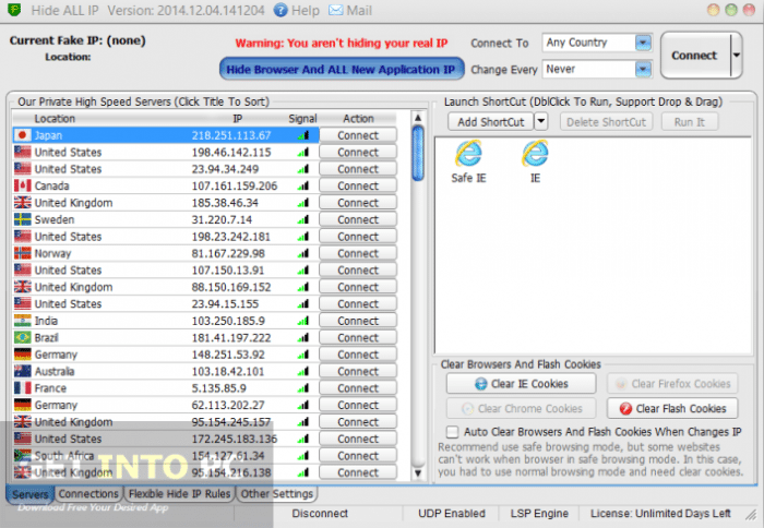 Hide ALL IP 2015 Free Download