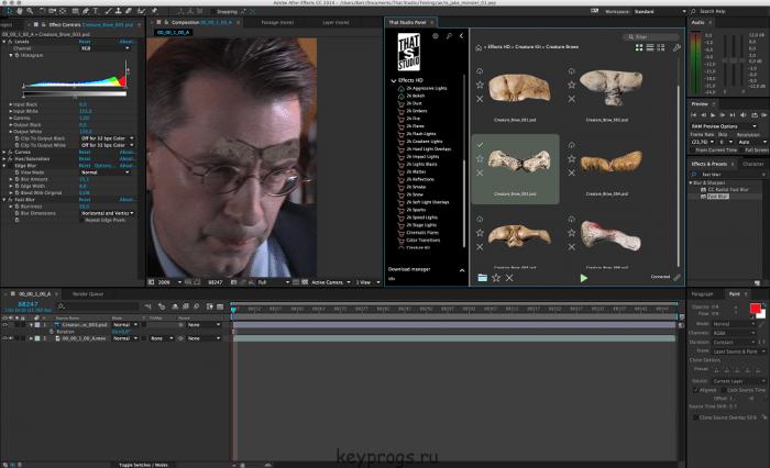 Adobe After Effects CC 2017 v14.0.1 64 Bit Free Download