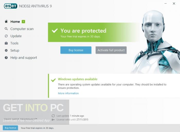 ESET NOD32 Antivirus 10 Free Download
