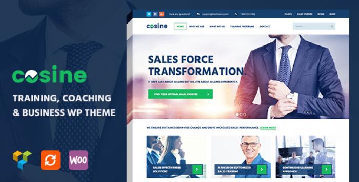 COSINE V1.0.4 – TRAINING, COACHING & BUSINESS THEME