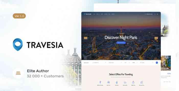 TRAVESIA V1.1.2 – A TRAVEL AGENCY WORDPRESS THEME