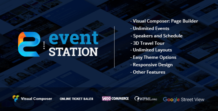 EVENT STATION V1.2.7 – EVENT & CONFERENCE WORDPRESS THEME