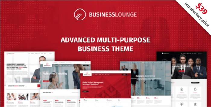 BUSINESS LOUNGE V1.6 – MULTI-PURPOSE BUSINESS THEME