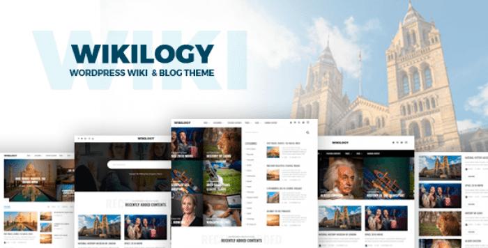WIKILOGY V1.2.1 – WIKI & BLOG WORDPRESS THEME