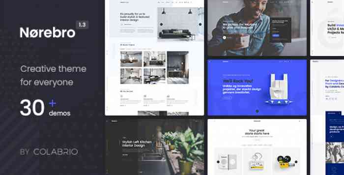 NOREBRO V1.3.5 – CREATIVE MULTIPURPOSE WORDPRESS THEME
