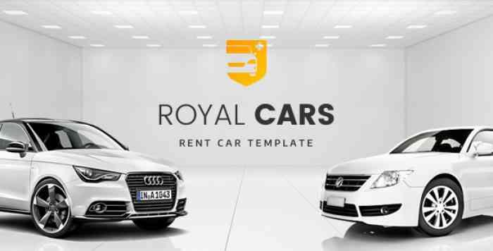 ROYAL CARS V1.0 – RENT CAR PSD TEMPLATE