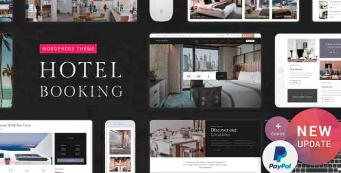 HOTEL BOOKING V1.0 – HOTEL WORDPRESS THEME (17 JUNE 2019)