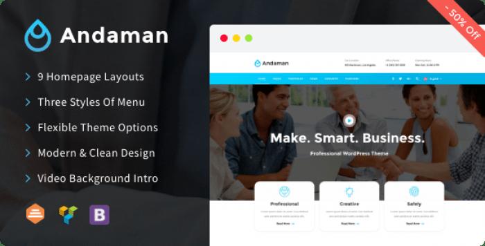 ANDAMAN V1.0.8 – CREATIVE & BUSINESS WORDPRESS THEME