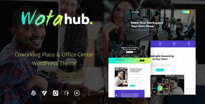 WOTAHUB V1.0.2 – COWORKING SPACE WORDPRESS THEME