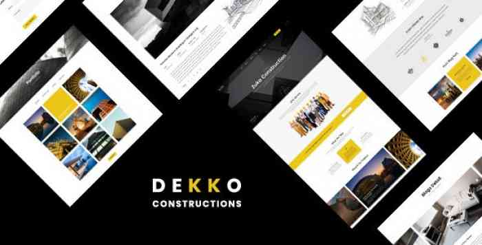 DEKKO V1.0 – CONSTRUCTION HTML5 TEMPLATE