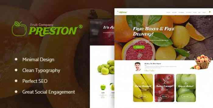 PRESTON V1.1.1 – FRUIT COMPANY & ORGANIC FARMING