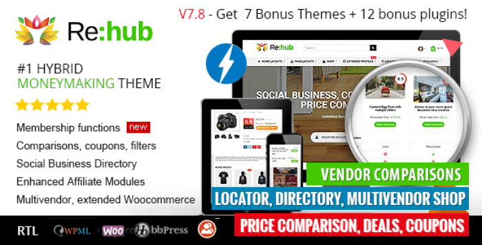 REHUB V7.8.1.1 – PRICE COMPARISON, BUSINESS COMMUNITY