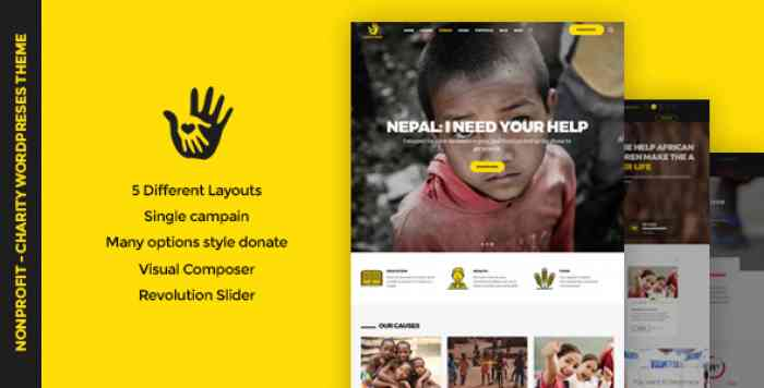 CHARITYHEART V1.1 – CHARITY, CROWDFUNDING, NONPROFIT THEME