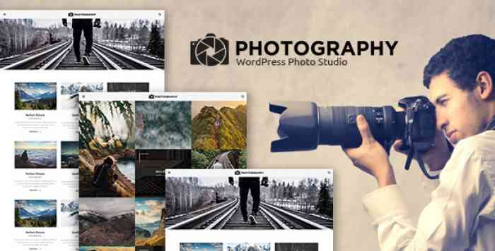 MT PHOTOGRAPHY V1.0 – EYE-CATCHING, UNIQUE PHOTOGRAPHY THEME