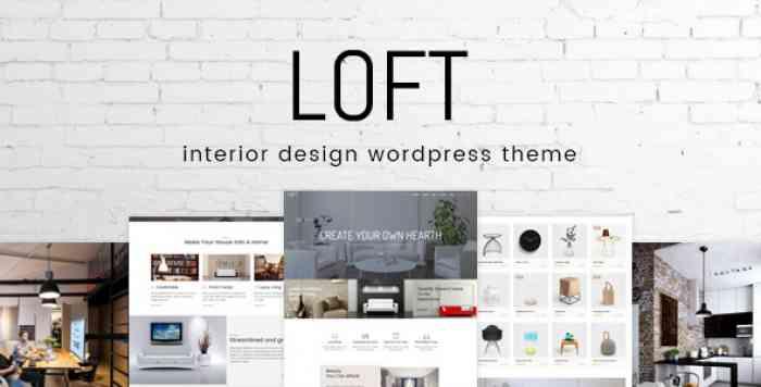 LOFT V1.0.4 – INTERIOR DESIGN WORDPRESS THEME