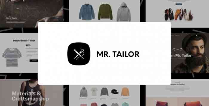 MR. TAILOR V2.9.9 – RESPONSIVE WOOCOMMERCE THEME