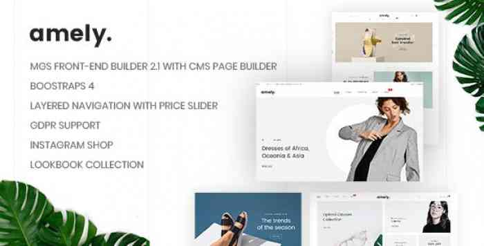 AMELY V1.0.7 – CLEAN & MODERN MAGENTO 2 THEME