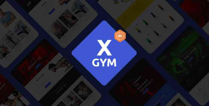 X-GYM V1.1.1 – FITNESS WORDPRESS THEME FOR FITNESS CLUBS