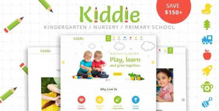 KIDDIE V4.0 – KINDERGARTEN AND PRESCHOOL WORDPRESS THEME