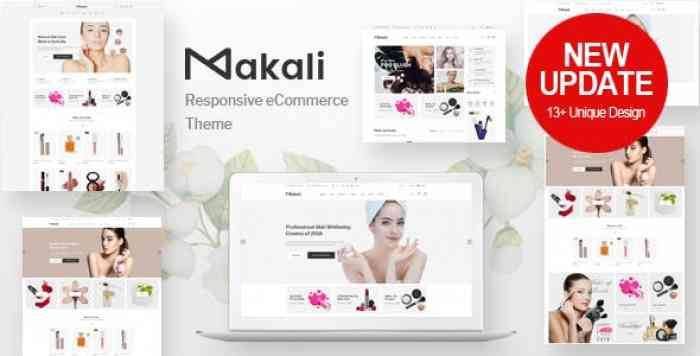 MAKALI V1.2.5 – COSMETICS & BEAUTY THEME