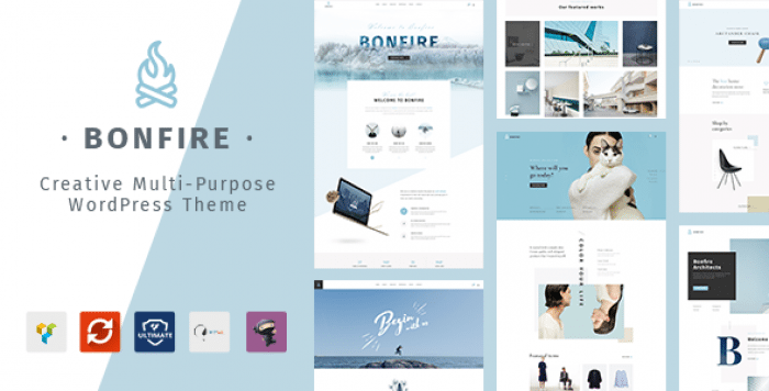 BONFIRE V1.6.0 – CREATIVE MULTIPURPOSE WORDPRESS THEME