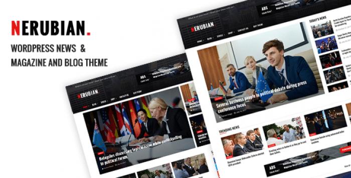 NERUBIAN V1.0.7 – A MODERN NEWS & MAGAZINE THEME