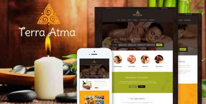 TERRA ATMA V1.8 – SPA & MASSAGE SALON WORDPRESS THEME