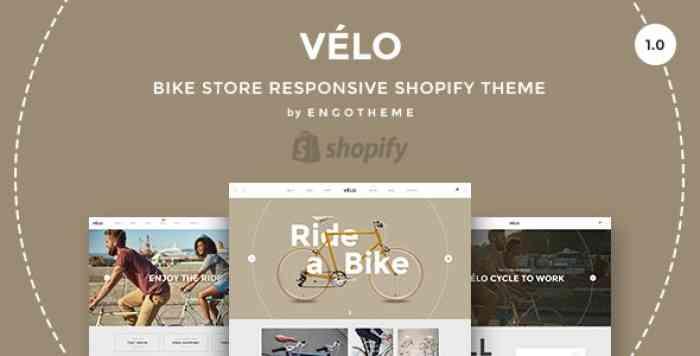 VELO V1.0 – BIKE STORE RESPONSIVE SHOPIFY THEME