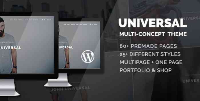 UNIVERSAL V1.2.4 – SMART MULTI-PURPOSE WORDPRESS THEME