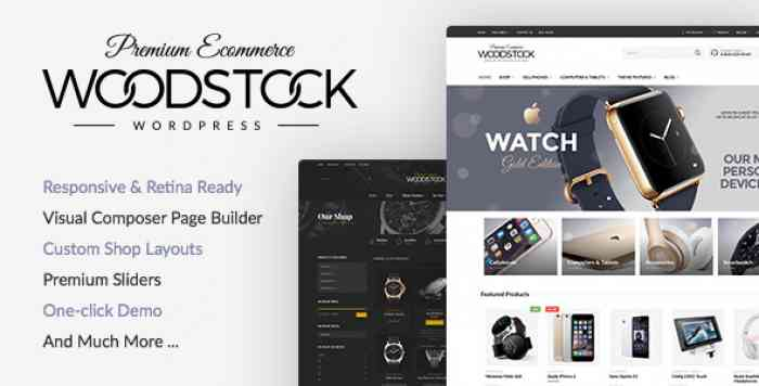 WOODSTOCK V1.9.9.4 – RESPONSIVE WOOCOMMERCE THEME