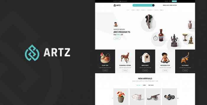 ARTZ V1.0 – ART, PHOTOGRAPHY SHOPIFY THEME