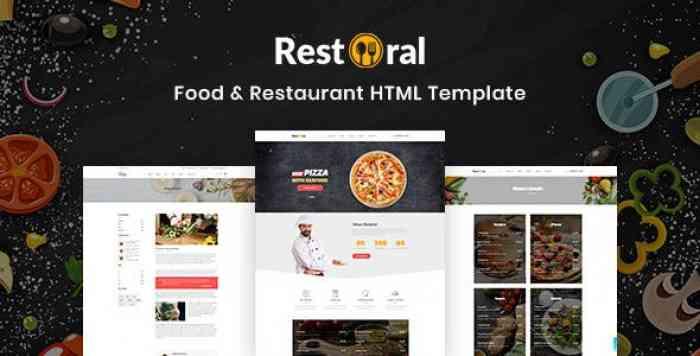 RESTORAL V1.0 – FOOD & RESTAURANT HTML RESPONSIVE BOOTSTRAP 4 TEMPLATE