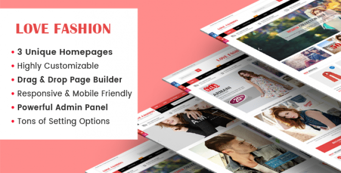 LOVEFASHION V1.0.1 – RESPONSIVE MULTIPURPOSE SECTIONS DRAG & DROP BUILDER SHOPIFY THEME