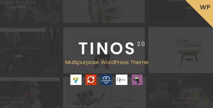 TINOS V2.1 – MULTIPURPOSE WORDPRESS THEME