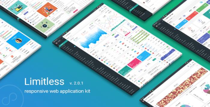 LIMITLESS V2.0.1 – RESPONSIVE WEB APPLICATION KIT