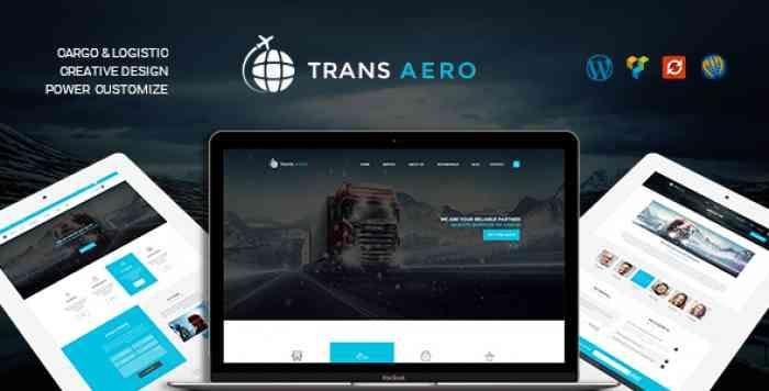 TRANSAERO V1.2.0 – TRANSPORT & LOGISTICS WORDPRESS THEME
