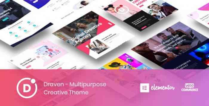 DRAVEN V1.1.0 – MULTIPURPOSE CREATIVE THEME