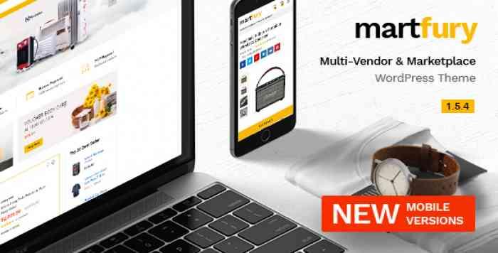 MARTFURY V1.5.4 – WOOCOMMERCE MARKETPLACE THEME