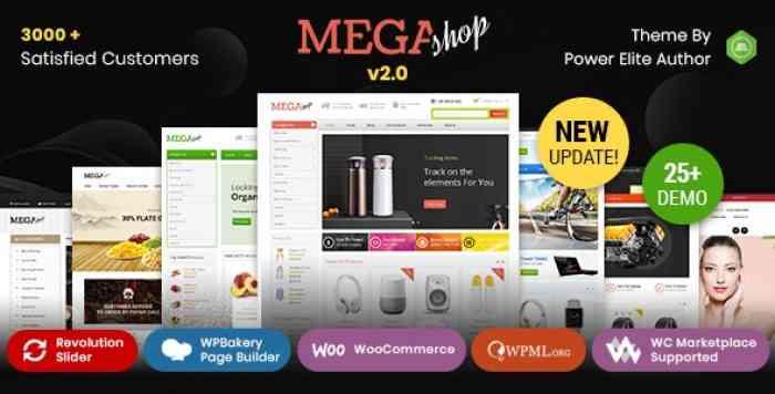 MEGA SHOP 2.0 – WOOCOMMERCE RESPONSIVE THEME