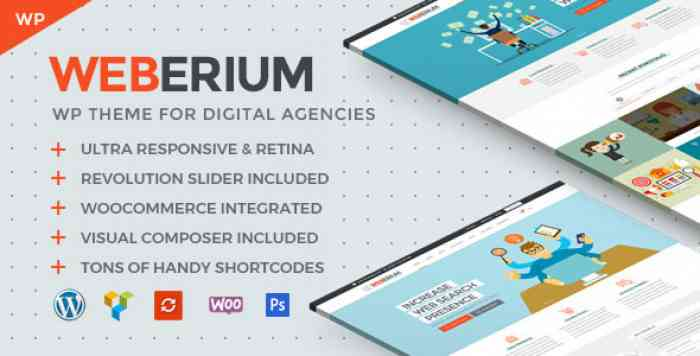 WEBERIUM V1.2 – THEME TAILORED FOR DIGITAL AGENCIES