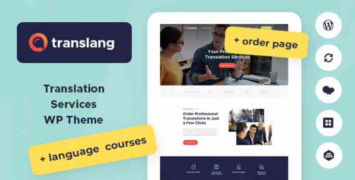 TRANSLANG V1.1.1 – TRANSLATION SERVICES & LANGUAGE COURSES