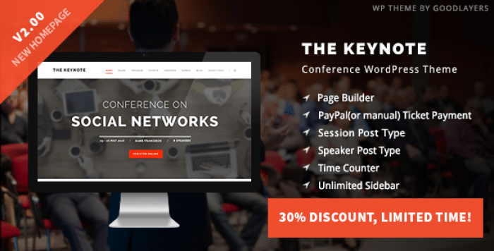 THE KEYNOTE V2.10 – CONFERENCE / EVENT / MEETING THEME