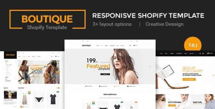 BOUTIQUE V1.0.1 – MULTI STORE RESPONSIVE SHOPIFY THEME