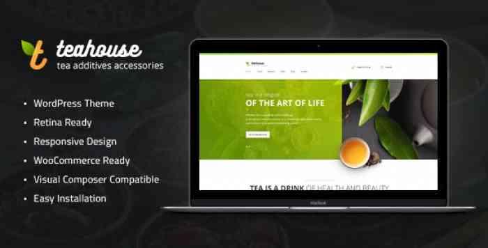 TEA HOUSE V1.1 – TEA STORE AND CAFE WORDPRESS THEME