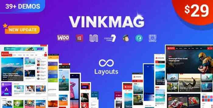 VINKMAG V1.7 – MULTI-CONCEPT CREATIVE NEWSPAPER